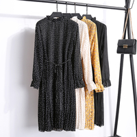 Платье-плиссе с принтом