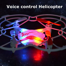 Free Shippping RC Drone Fineco FX-4V 6-axis 4CH 360 Flips Voice control 2.4GHz RC Helicopter Quadcopter Toys VS SYMA X13 JXD385