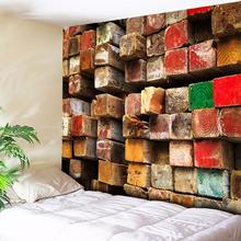 3D Wood Art Wall Tapestry Bohemian Decoration Psychedelic Tapestry Hippie Wall Hanging Tapestries for Living Room Bedroom Wall