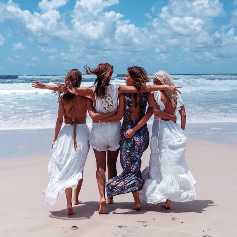 Boho zainspirowany 2017 letnie sukienki kwiatowy print cotton backless długi maxi dress hippie chic ruffles rękawem kobiety sexy vestidos 4