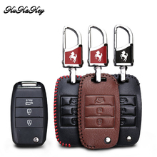KUKAKEY Car Key Case Cover Skin For KIA Sid Rio Soul Sportage Ceed Sorento Cerato K2 K3 K4 K5 Smart Key Bag Holder Shell sncn leather car key case cover key wallet bag keychain holder for kia k2 k3 rio cerato ceed optima stonic soul niro sportage