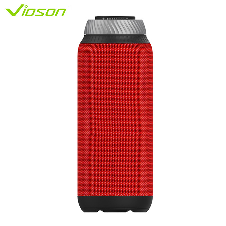 Vidson D6 Mini Speaker Wireless Bluetooth Bass 360 Column Dual Speaker With AUX TF Altavoz Portatil de Gran Potencia for xiaomi tronsmart element t6 mini bluetooth speaker portable wireless speaker with 360 degree stereo sound for ios android xiaomi player