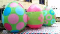 Бесплатная доставка 3 м высотой гигантские надувные яйца
