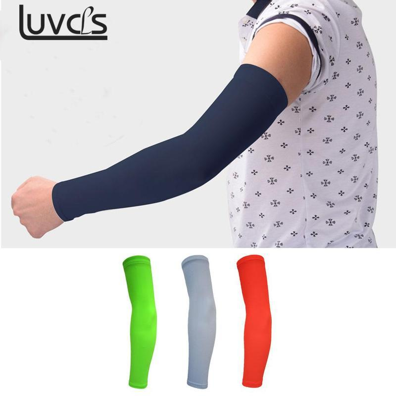 Men's Arm Warmers 1pcs Basketball Elbow Support Protector Bicycle Cycling Sports Safety Elbow Pad Long Arm Sleeve Xrq88 Cheapest Price From Our Site