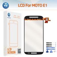 AAA LCD Screen For Motorola E E1 LCD Display Touch Digitizer Sensor Glass Assembly Repair Pantalla