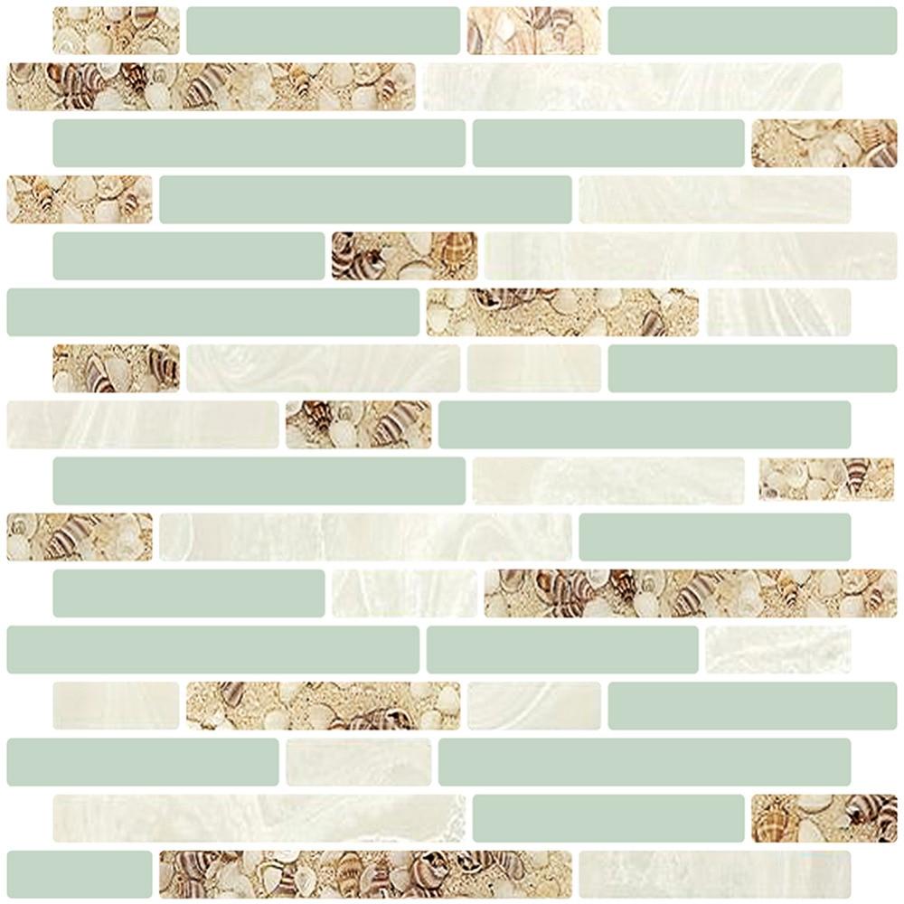 Cocotik Peel And Stick Wall Tiles 10 5 X 10 Kitchen Backsplash Tile