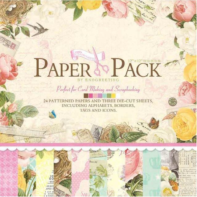 Eno Greeting Scrapbookingstamping Craft Papescrapbook Paper 12inch