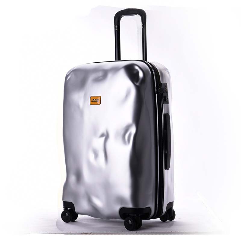 New Fashion Italian Originality Damage Rolling Luggage Women Trolley 20/28 inch Boarding ...