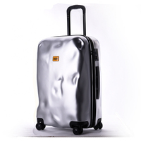 New Fashion Italian Originality Damage Rolling Luggage Women Trolley 20/28 inch Boarding Box PC ABS Suitcases Travel Bag Trunk