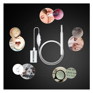 Image 5 - HD 720P WIFI Visual Ear Cleaning Endoscope Mini Camera with 6 LED Inspection Otoscope Camera Ear Spoon for IOS Android PC