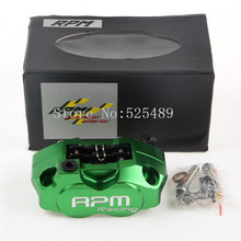 Wholesale New RPM Brand Electric Motorcycle Scooter Accessories Small Radiation CNC Motorcycle 200mm/220mm Disks Brake Pump Brake Calipers