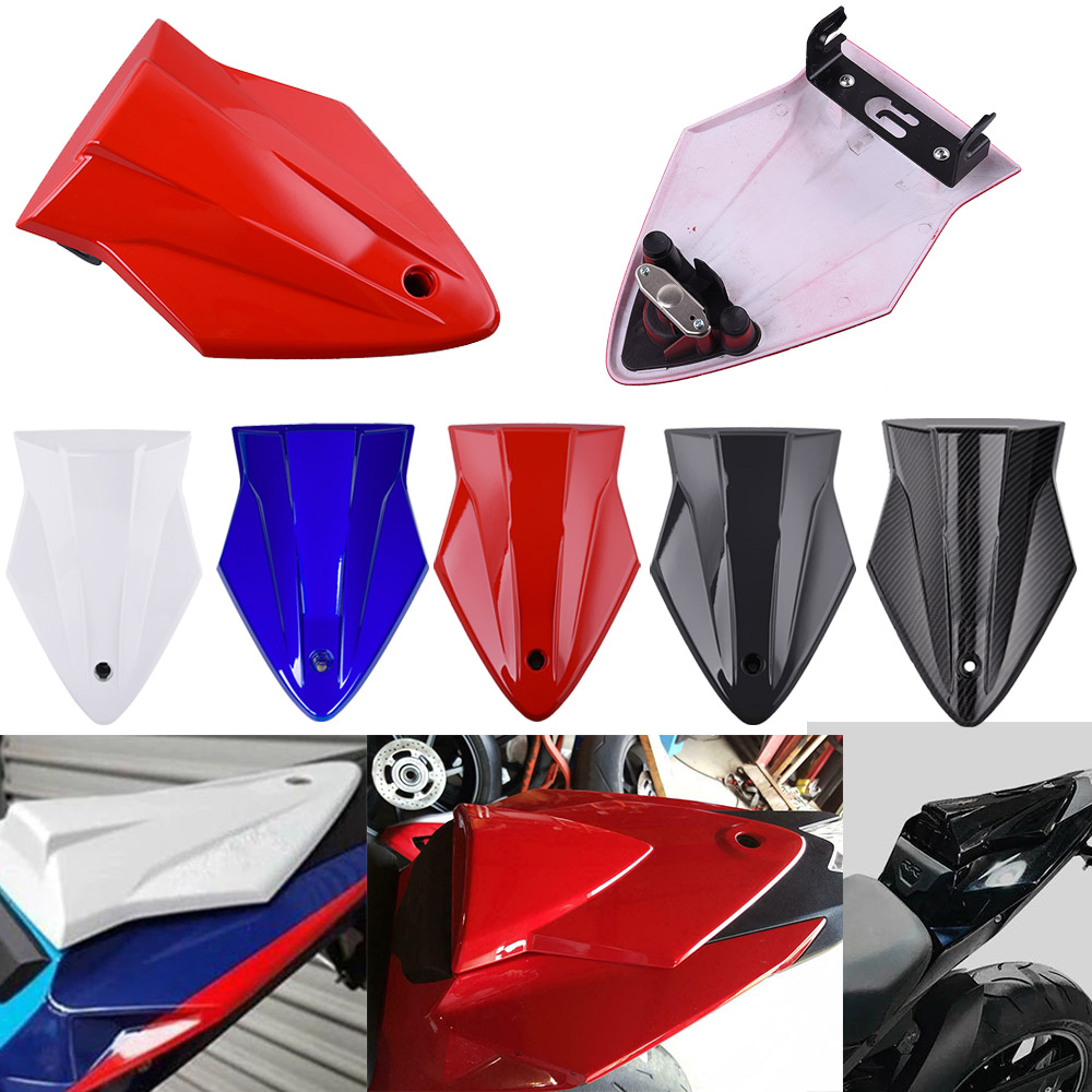 S-1000-RR ABS Plastic Rear Pillion Passenger Hard Seat Cowl Cover Section Fairing For 2014-2018 BMW S1000RR S 1000 RR 15 16 17