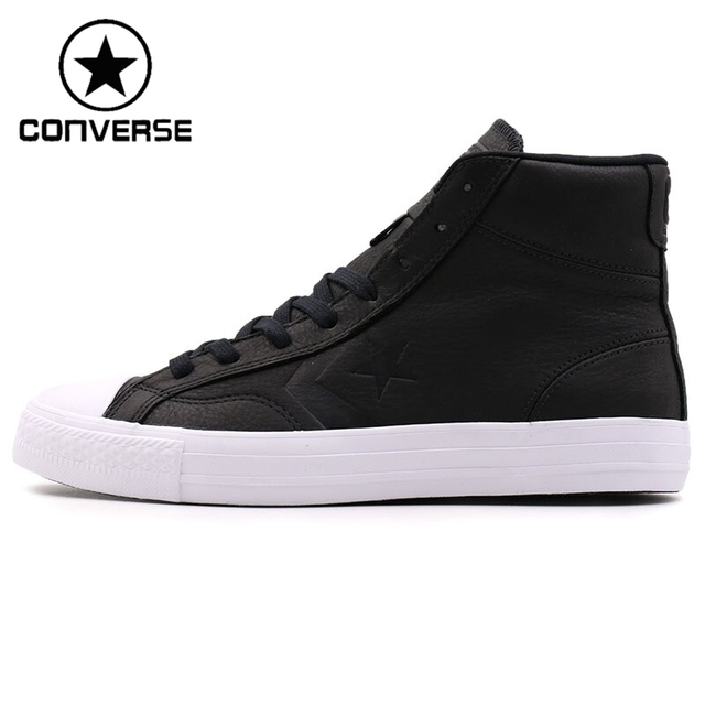 a472b91b09a Original New Arrival 2017 Converse Star Player Men s Skateboarding Shoes  Leather Sneakers