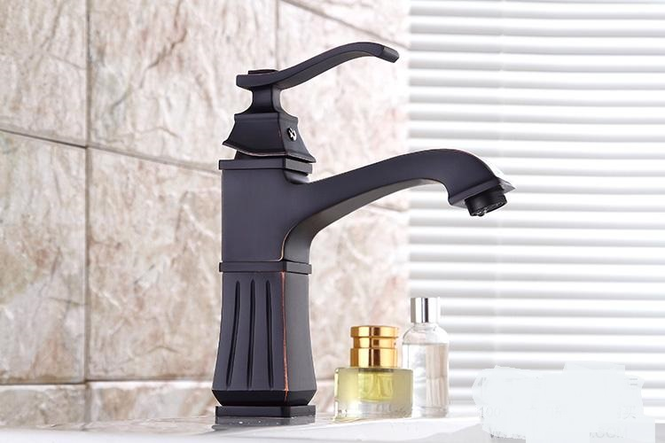 European style hot and cold basin faucet black faucet black ancient stage basin hot and cold waterfall faucet LU41223 european style hot and cold basin faucet black faucet black ancient stage basin hot and cold waterfall faucet lu41223