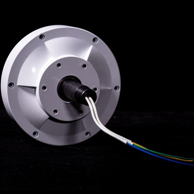 Alternateur de générateur d'aimant Permanent sans noyau à ca de PMG 3 phases de bas régime de la CE pour l'axe Vertical éolienne silencieux à faible bruit