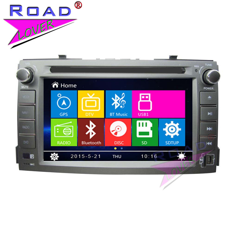 TOPNAVI Wince 6.0 Double Din 6.2 Car Media Center DVD Player Auto Radio For KIA Soul 2012- Stereo GPS Navigation TFT Touch MP4