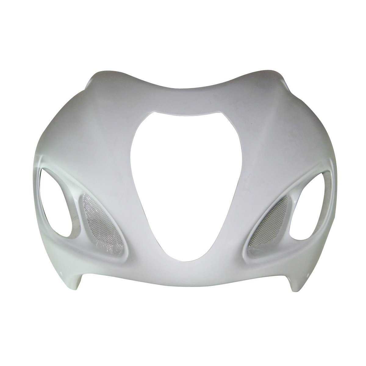 Motorbike Unpainted Front Upper Cowl Fairing For Suzuki HAYABUSA GSX-R 1300R GSXR1300 1999 - 2007 06 05 04 03 02 01 00 GSXR 1300 used item genuine original wgtselea2b rock band wireless guitar usb dongle receiver for nintendo wii fender statocaster