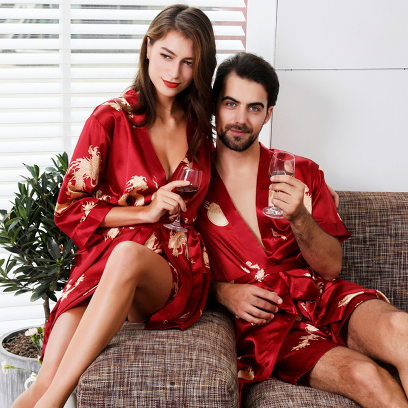 Luxury Designer Women's Silk Kimono Robe Set 5XL Sleepwear Bathrobe Oversized Satin Nightgown 2PC Ladies Summer Home Clothing