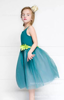 Girls Spring Gauze Sleeveless Dress Retail Wholesale Cheap