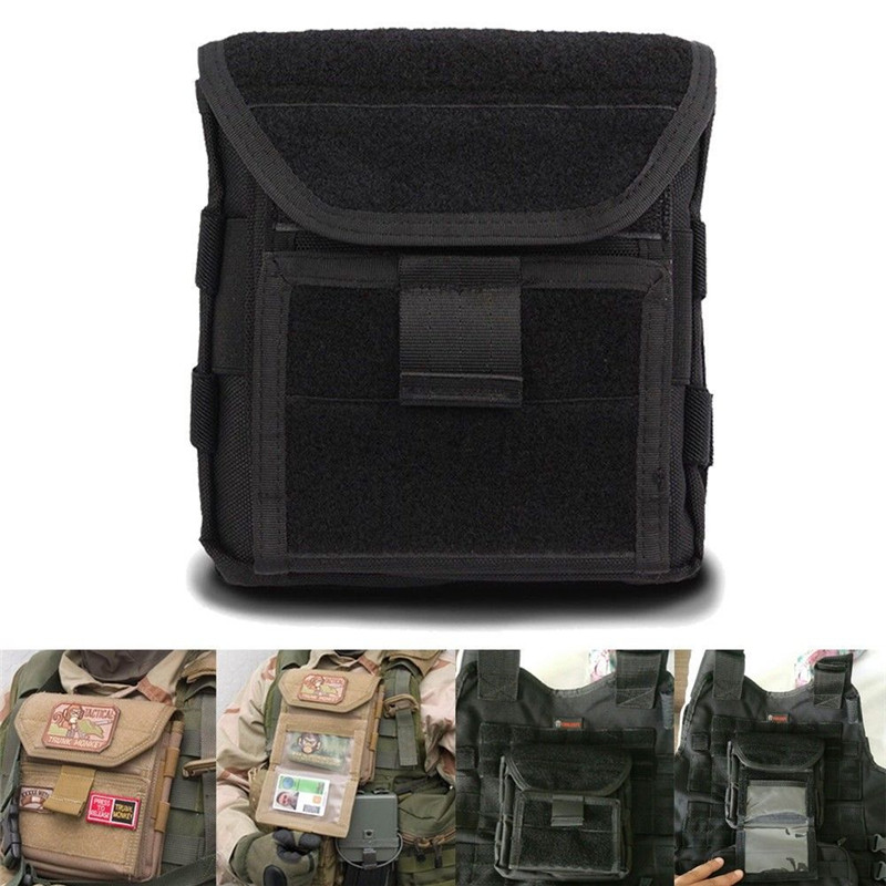 Muti-functional 1000D Molle Admin Magazine Storage Men's Tactical Pouch For Air Gun Pistol Holster Bag Hunting accessories 1000d molle men tactical admin magazine storage pouch pistol gun holster bag edc utility accessory pack mag map flashlight bag