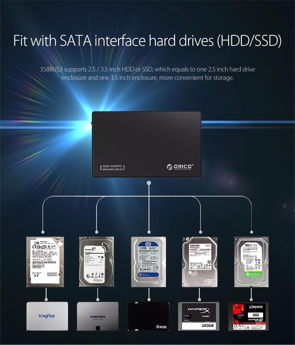 HDD 3.5-tolline ümbris kõvakettale