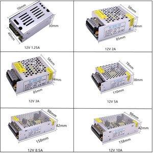 Image 2 - DC12V 1A 2A 3A 5A 8.5A 10A 15A 20A 30A chiếu sáng Biến Hình ĐÈN Lái Bộ Chuyển Đổi Nguồn Điện Dây ĐÈN LED ánh sáng chuyển đổi Nguồn điện