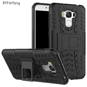 For Asus Zenfone 3 Max ZC553KL Case TPU & PC Dual Armor Hard Back Impact Cover For Zenfone 3 Max ZC553KL Phone Case with Stand