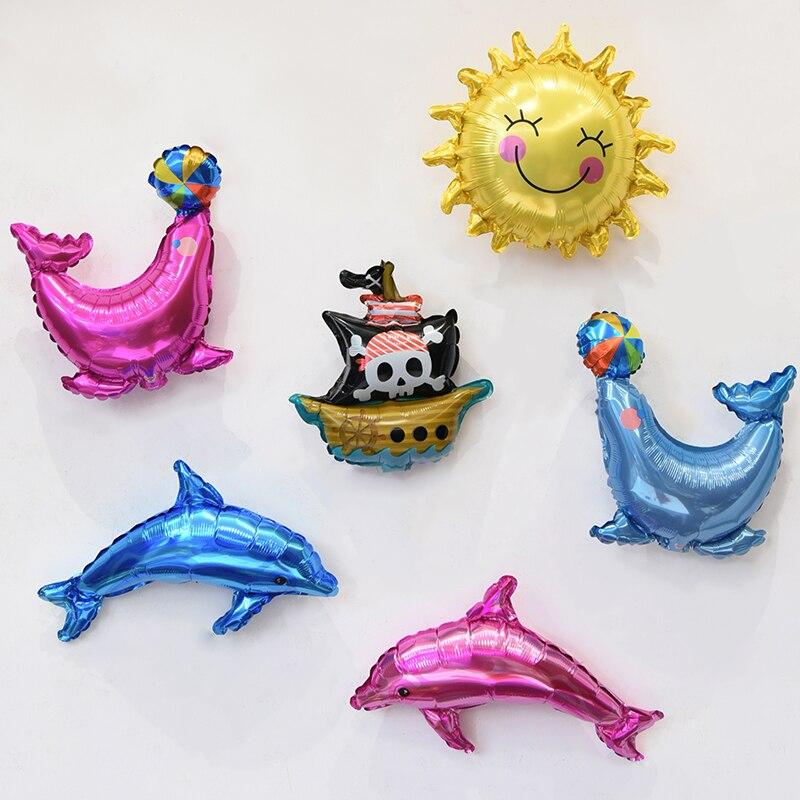 6шт міні-морський тварина алюмінієва - Святкові та вечірні предмети