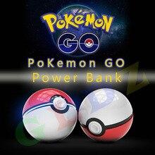 มือถือเกมคอสเพลย์ไปPokeball 12000มิลลิแอมป์ชั่วโมงไปบวกPower BankมือถือPokeลูกบอลของเล่นธนาคารอำนาจ