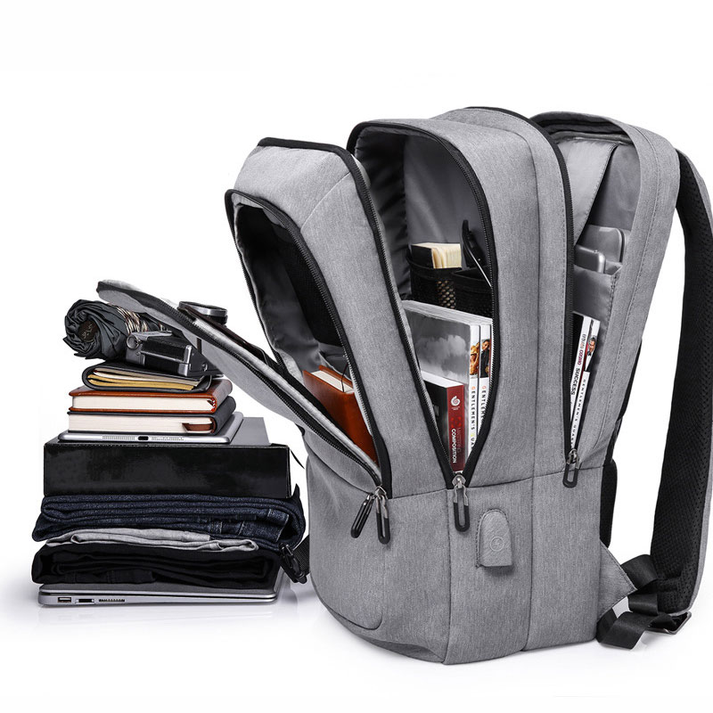 KAKA Brand 2018 Designer Nylon School Backpack Unisex for 17.3 Inch Laptop with USB Charging Port Daily Casual Sports Backpack balang brand designer 2018 new business backpack for 15 6 inch laptop with usb port daily school backpack travel luggage bags
