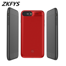 Power Case 5500mAh External Battery Pack Backup Charger For iPhone 6 6S 7 8 Portable High Quality Bank Cover