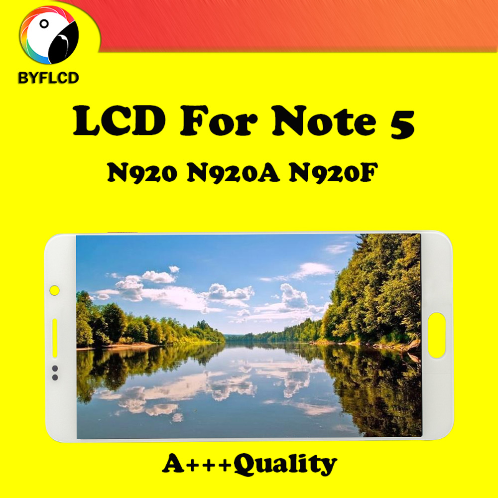 Brand New TFT Lcd For Samsung Note 5 N920 N920F N920A Display For Samsung Galaxy Note 5 Screen Touch Display Assembly Replace