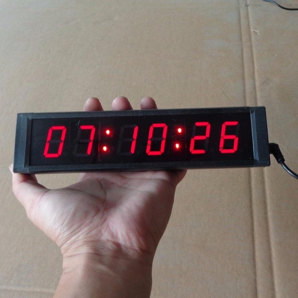1 6digits Led Countdown Clock For Public Speaking Speech