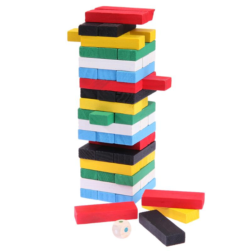 Wooden Rainbow Domino Blocks Model Building Blocks Montessori Early Educational Wooden Toys Gifts for Children Set hot 120 rainbow domino the wooden building blocks baby toys for infants toys aug 31