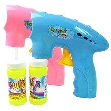 Летние игрушки для выдувания воды, забавные Волшебные Пузырьковые воздуходувки, машина, Космический пузырьковый пистолет, вентилятор, уличные игрушки для детей, подарок на день рождения
