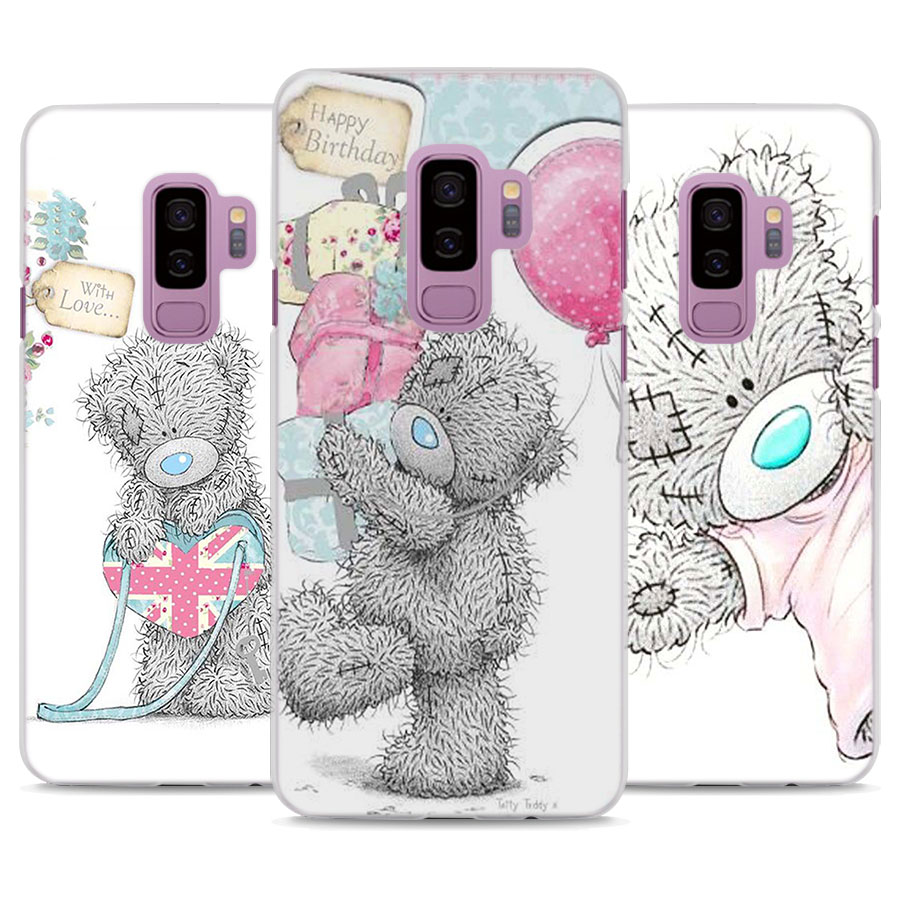 Tatty Teddy Me To You Bear Pattern Transparent frame hard Case Cover ...