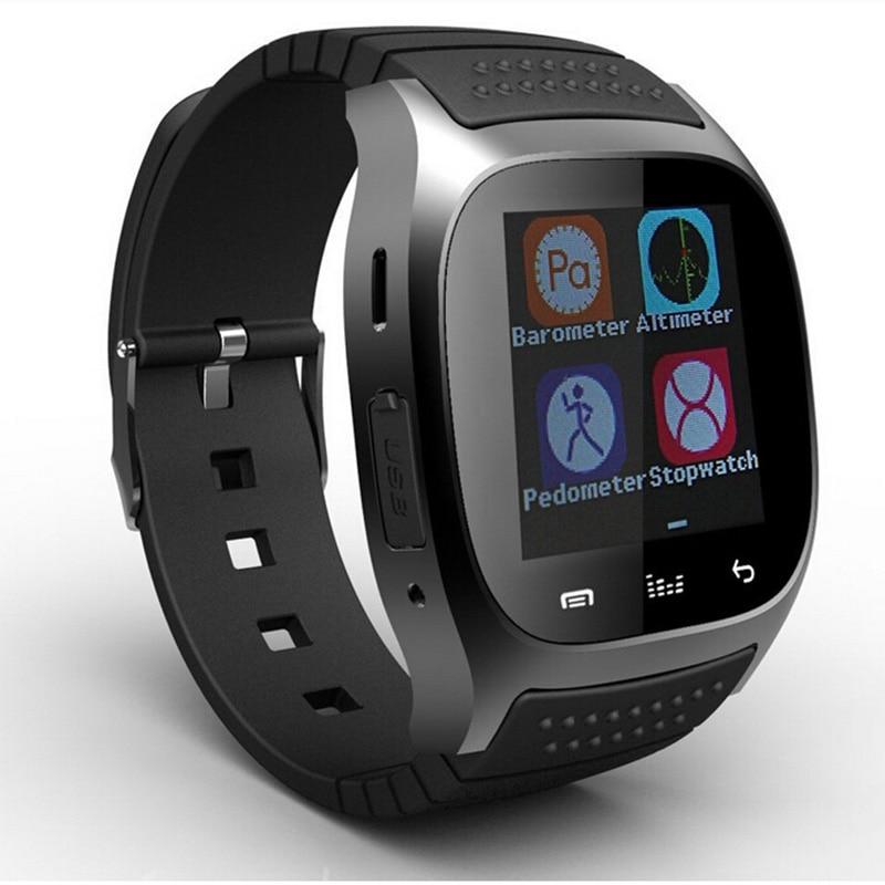 Vrući Smart Bluetooth sat M26 s LED display barometar Alitmeter Mp3 - Pametna elektronika - Foto 3