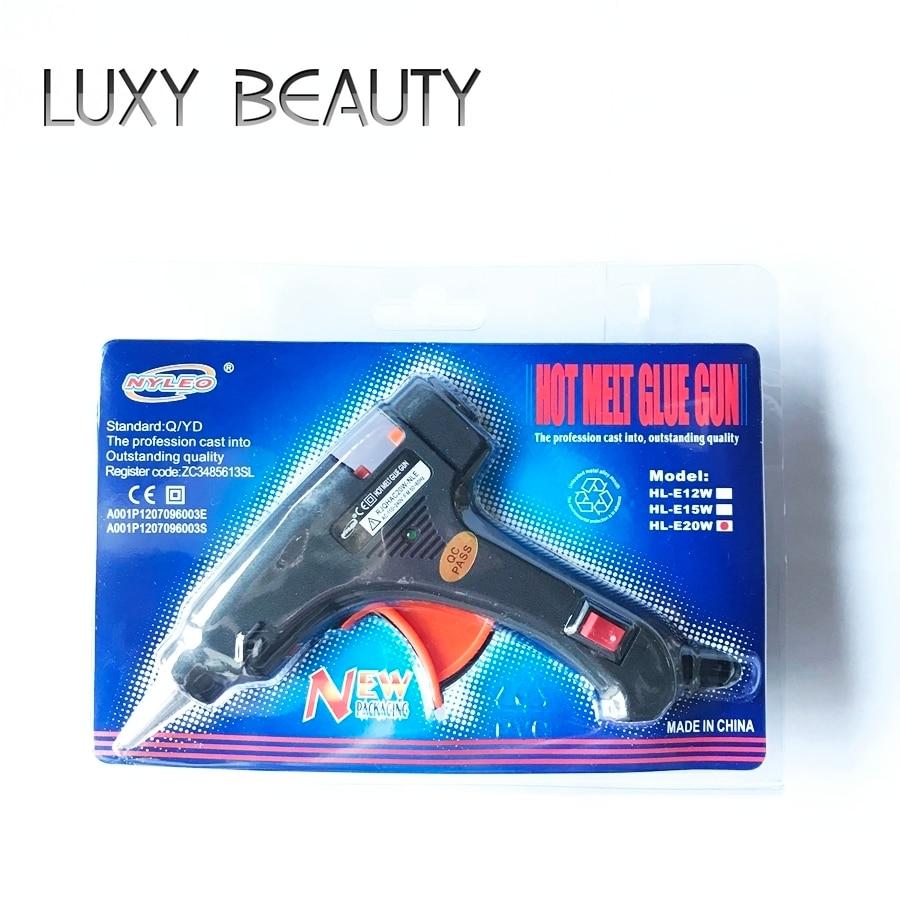 Hot Melt Glue Gun Small For Glue Stick High Temperature Fusion Bonding Machine Black DIY Tool Handmade Homemade