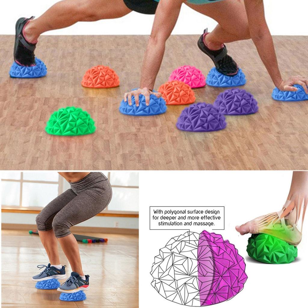 Professional Massager Spiky Massage Ball PVC Foot Trigger Point Stress Relief Yoga Massage Ball For Feet Fitness