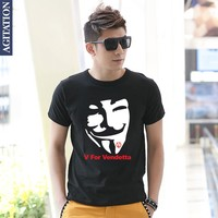 Spring 2014 New V For Vendetta V For Vendetta Movie Cool Cotton Loose Big Yards Short