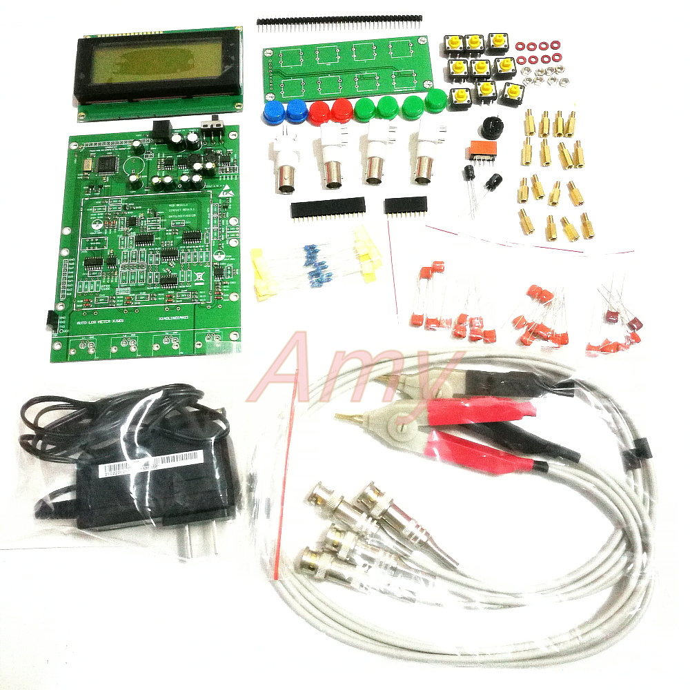 XJW01 DIY Kit 0.3% LCR Digital Bridge Board