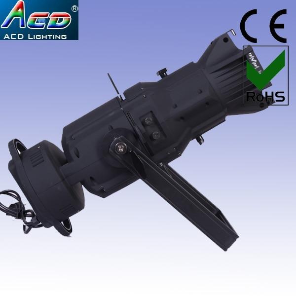 wholesale 180W 4IN1 RGBW led gobo projector studio fresnel lighting theater spotlight 19degree