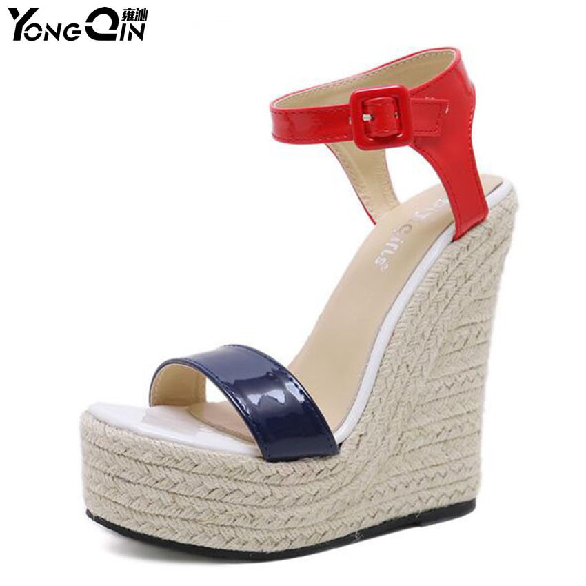 Spring Summer Women Sandals  Wedges Platform Bohemian style sandals  for women