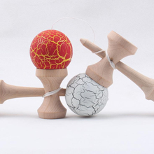 Wooden Crack Kendama Professional Traditional Ball Toy Outdoor Juggling Games Jumbo Pill With Free Shipping Malabares