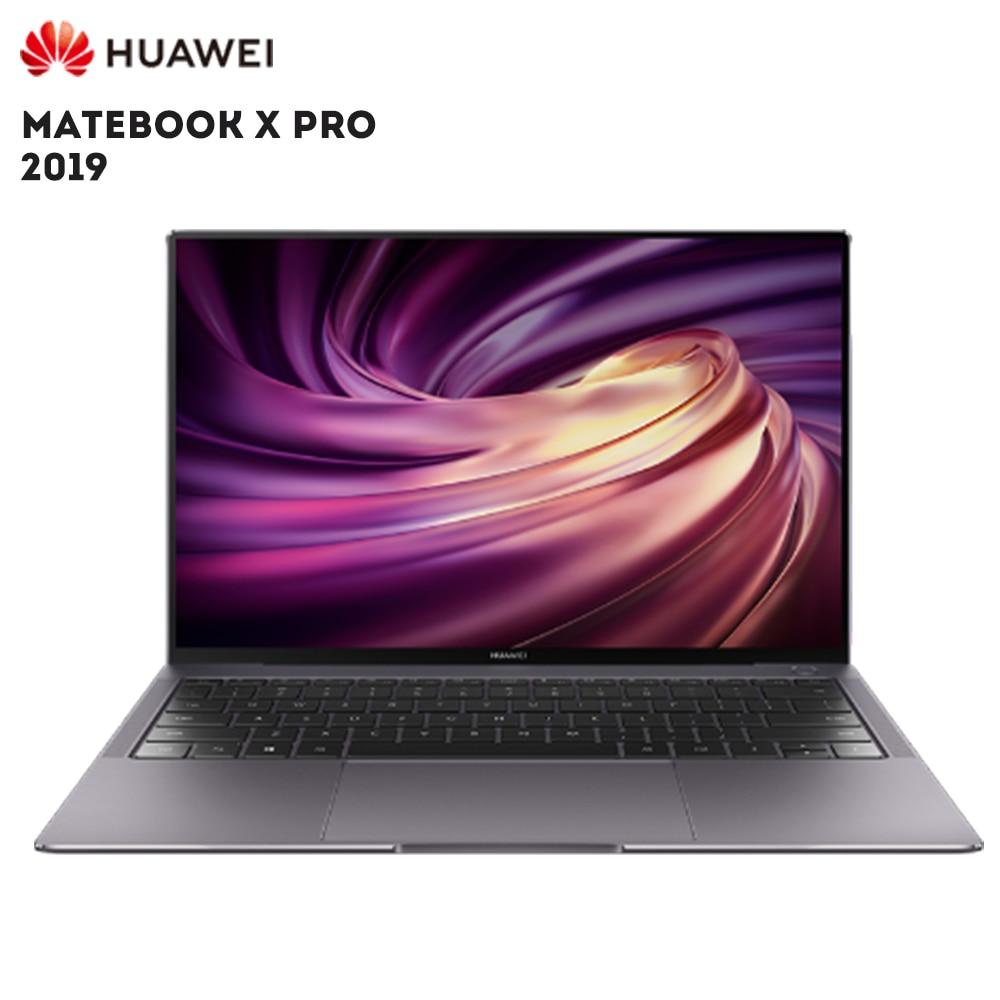 Original HUAWEI MateBook X Pro 2019 portátil Windows Intel Core 10 I5 8265U i7 8565U 8 GB RAM 512 GB SSD PC huellas dactilares