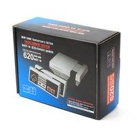 Мини Ретро Классическая видеоигра консоль встроенный 620 игр 8 бит PAL и NTSC семья ТВ Ручные игры плеер двойные геймпады