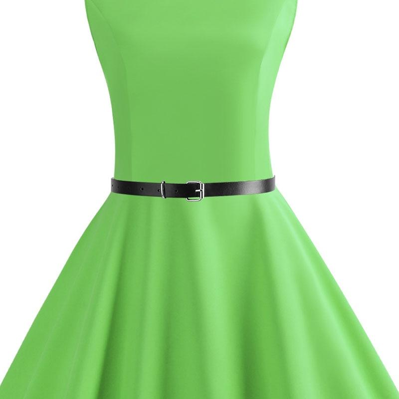 Blue Vintage Swing Dress 90