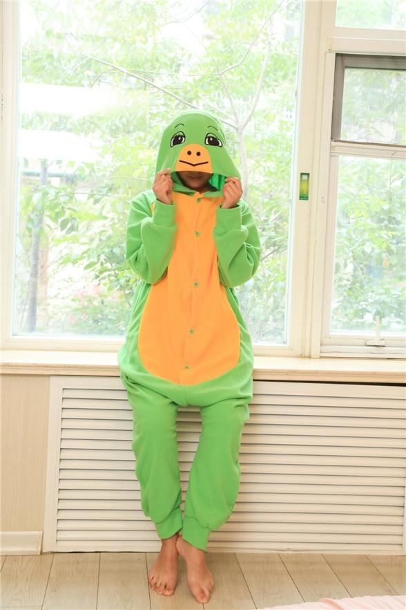 Cartoon ninja turtle Kigurumi Onesies Cosplay costume Polar Fleece Turtle Little Dragon home service factory Halloween dresses
