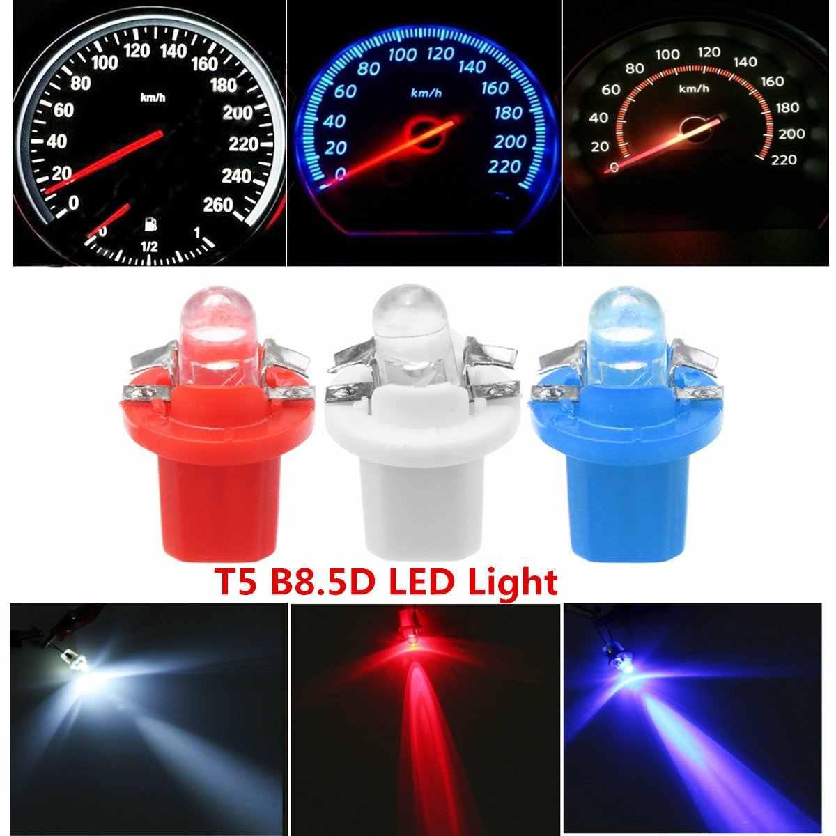 12v B8.5D TACHO 1 LED Super Bright Bulb Red New