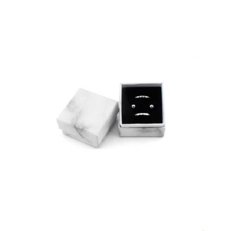 Коробочка для драгоценностей кольца, шкатулки/серьги/браслет ожерелье для хранения маленькая Подарочная коробка DIY ремесло витрина упаковка Свадьба/и т. д. Новый wh